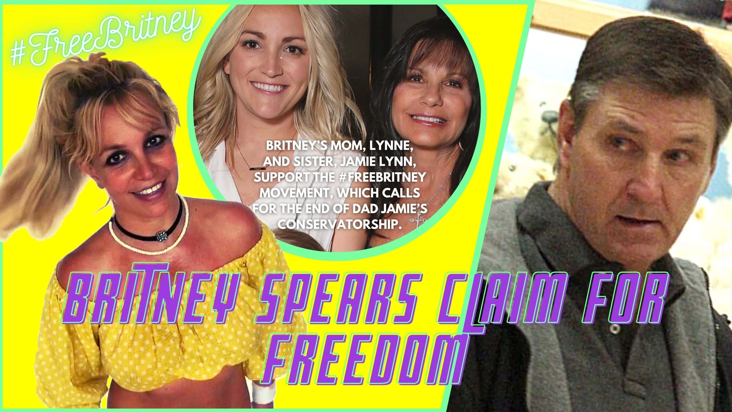 Britney Spears Claim For Freedom Freebritney